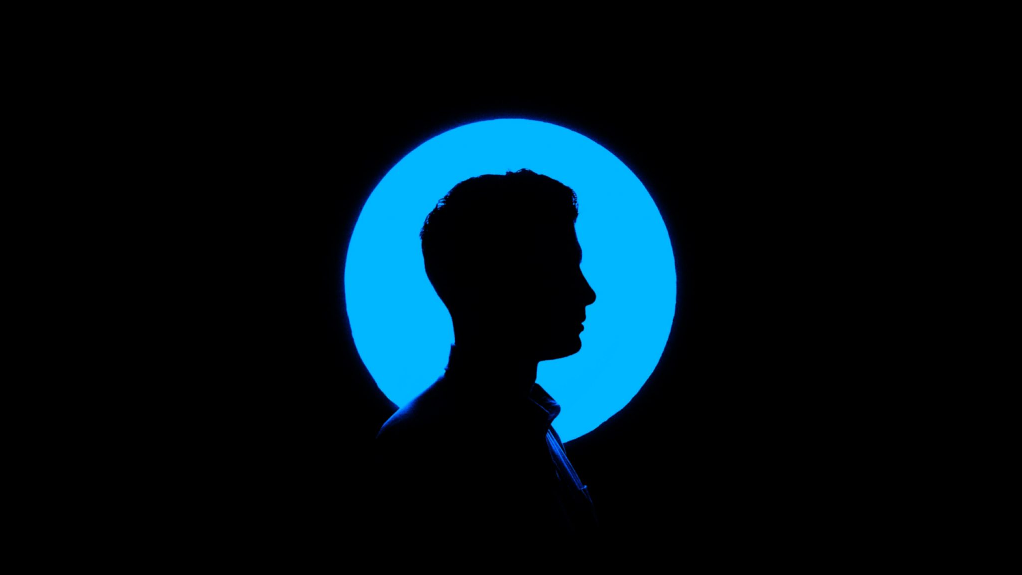 man with blue silhouette, what is wet brain