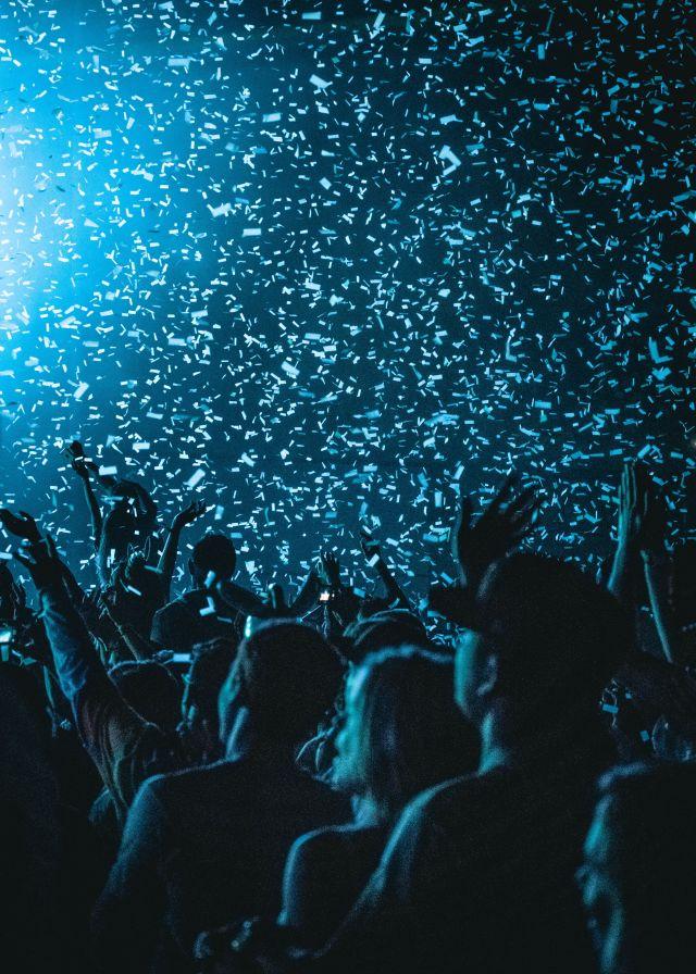 music festival sober